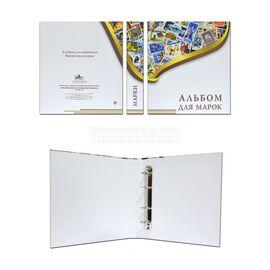 """Папка для марок """"Альбом для марок"""", формат Оптима (Optima), фото , изображение 2"""