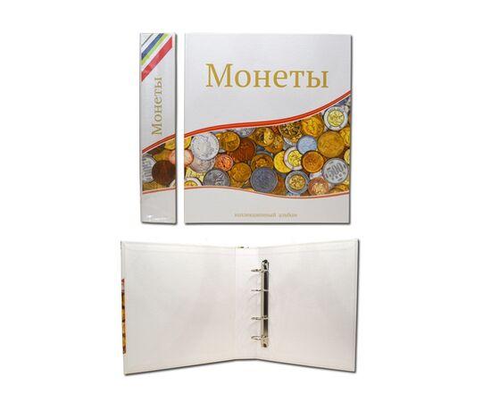 """Альбом (папка) для монет """"Монеты"""", формат Оптима (Optima), Папки СОМС: Монеты, фото , изображение 2"""