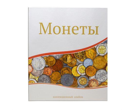 """Альбом (папка) для монет """"Монеты"""", формат Оптима (Optima), Папки СОМС: Монеты, фото"""
