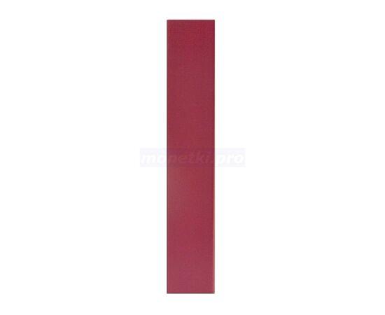 """Коллекционный альбом (папка) для монет """"Монеты"""", формат Оптима (Optima), бордовый, 50 мм, Толщина корешка: 50 мм, Цвет: Бордовый, фото , изображение 3"""