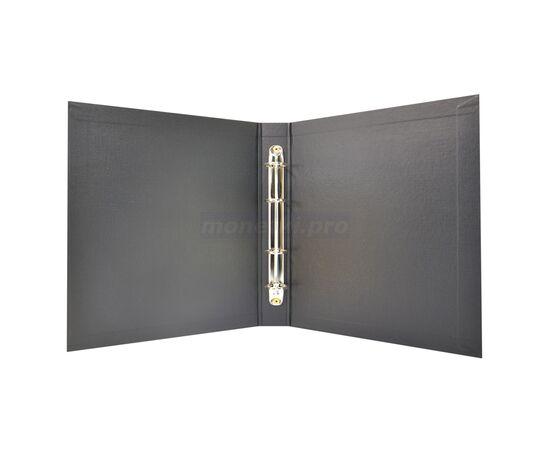 """Коллекционный альбом (папка) для монет """"Монеты"""", формат Оптима (Optima), черный, 40 мм, Толщина корешка: 40 мм, Цвет: Черный, фото , изображение 4"""