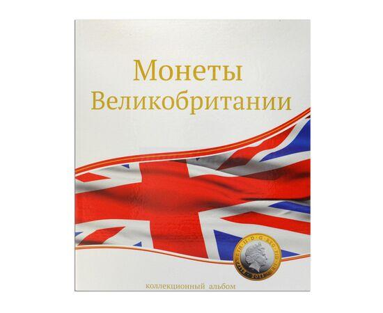 """Альбом (папка) для монет """"Монеты Великобритании"""", формат Оптима (Optima), Папки СОМС: Монеты Великобритании, фото"""