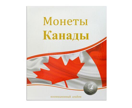 "Альбом (папка) для монет ""Монеты Канады"", формат Оптима (Optima), Папки СОМС: Монеты Канады, фото"