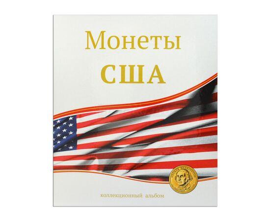 """Альбом (папка) для монет """"Монеты США"""", формат Оптима (Optima), Папки СОМС: Монеты США, фото"""