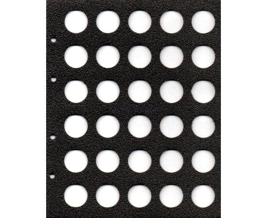 Листы для пивных пробок на 30 ячеек, формат Оптима (Optima), производство СОМС, фото